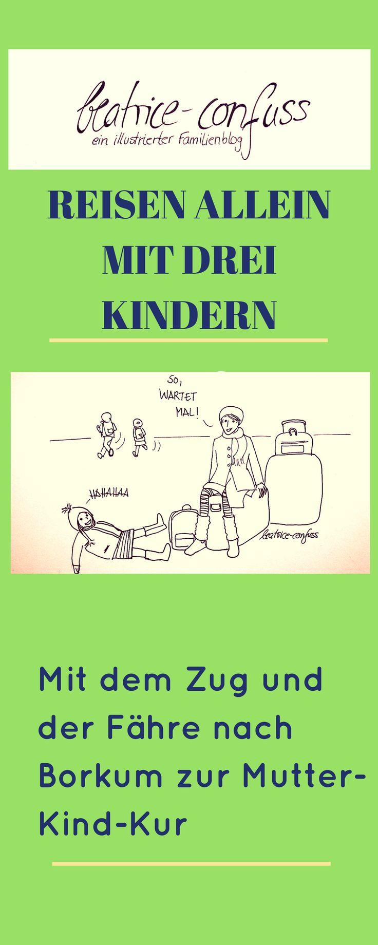 Anreise nach Borkum zur Mutter Kind-Kur. Was erwartet dich.
