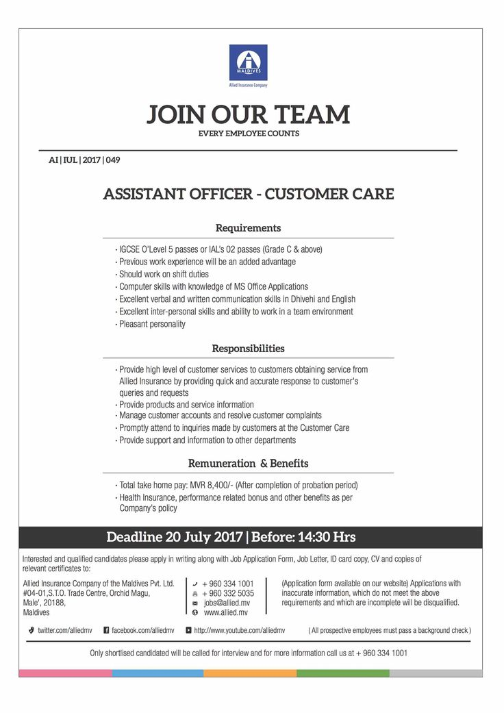 Allied Insurance Company Jobs Pinterest - background check form