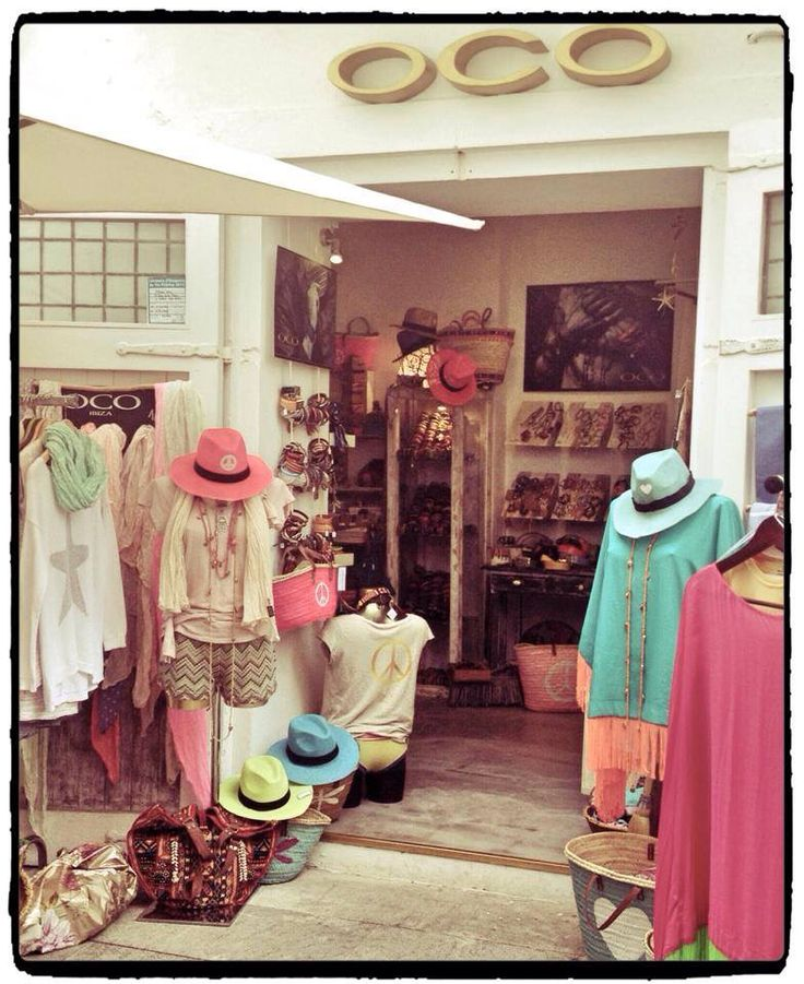 OCO Ibiza Shop in Ibiza Town.  C/Antonio Mari Ribas 3, 07800 Puerto de Ibiza.