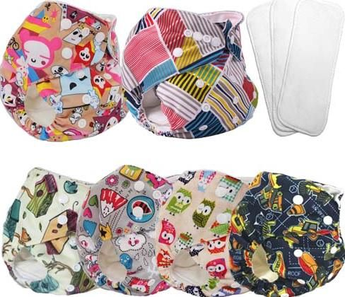 free shipping cloth diapers