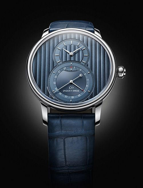 Two new versions with an ever more contemporary design JAQUET DROZ the Grande Seconde Quantième