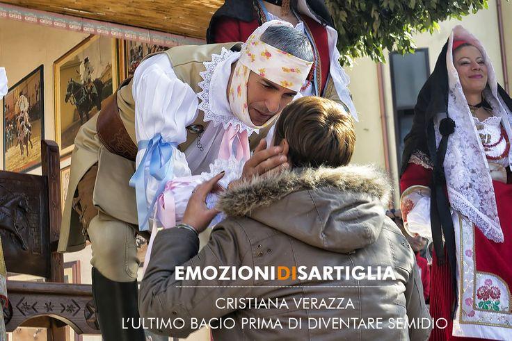 L'ultimo bacio prima di diventare semidio - Cristiana Verazza #sartiglia #emozionidisartiglia #oristano