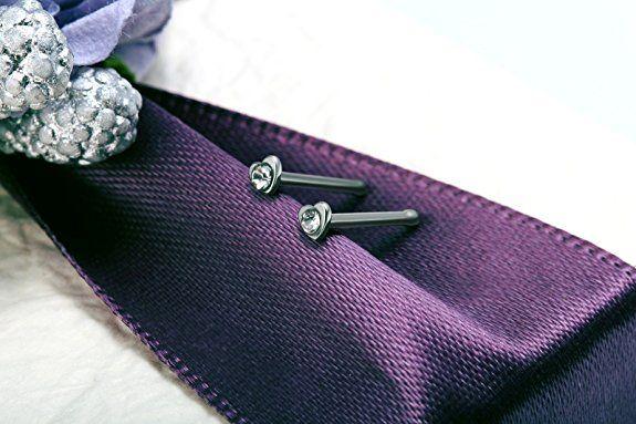 JewelryWe Piercings de Nariz Boca Labio, Acero Inoxidable, Diamante de Imitación, 2mm Piercing Pendientes de Nariz, Brillante Atractivo para Hombre Mujer Unisex, Un Par: Amazon.es: Joyería
