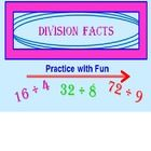 DIVISION FACTS POWERPOINT PROGRAM (INCLUDING LESS THAN GREATER THAN)* Imagine a program that STARTS ALL OVER AGAIN when they get even ONE answer ...