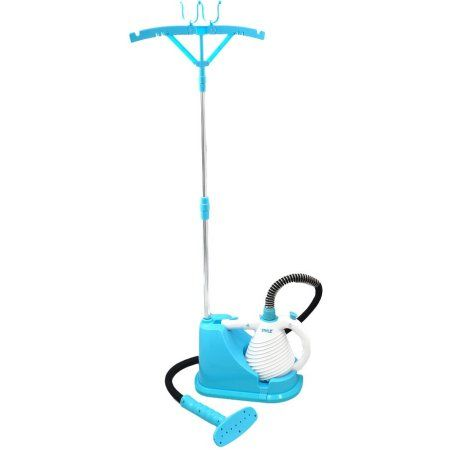 Pyle-Home Steam Cleaner and Handheld Birdie for Multi-Purpose and Multi-Surface Disinfecting Deep Cleaning for Home, Clothing, Floors, Carpets and Vehicles, White