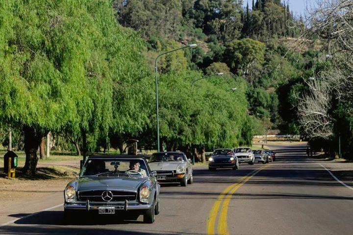 Bajando del Parque de Mendoza