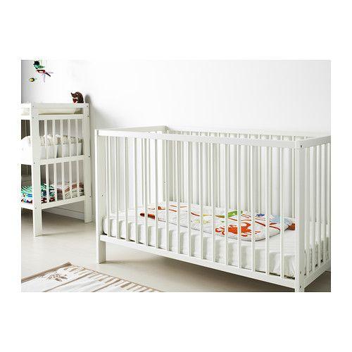 GULLIVER Crib, white white 27 1/2x52
