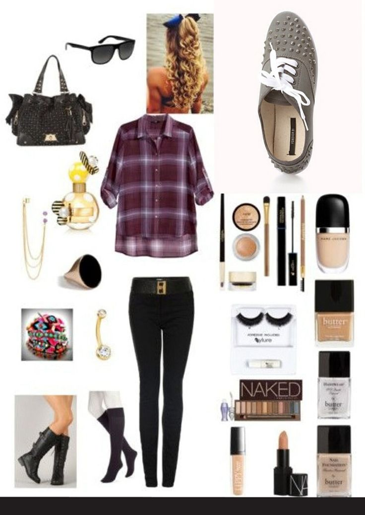 Inspired Outfit Pop Punk Rock Grunge Indie Style Tween Girl Outfits Pinterest