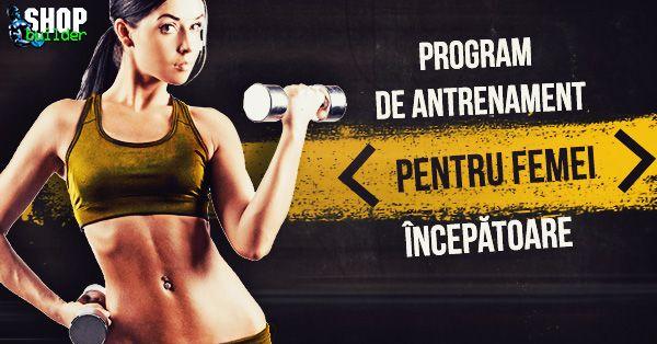 Program de antrenament pentru femei începătoare. Acest tip de program separat pe grupe musculare constituie primul pas către antrenamentul de mare intensitate., Program de antrenament pentru femei începătoare, Articole , Exerciții și programe de antrenament, Programe de antrenament pentru femei, Programe de antrenament pentru începătoare în Magazinul Online ShopBuilder.