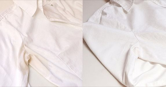How to remove sweat stains from a dress shirt fit