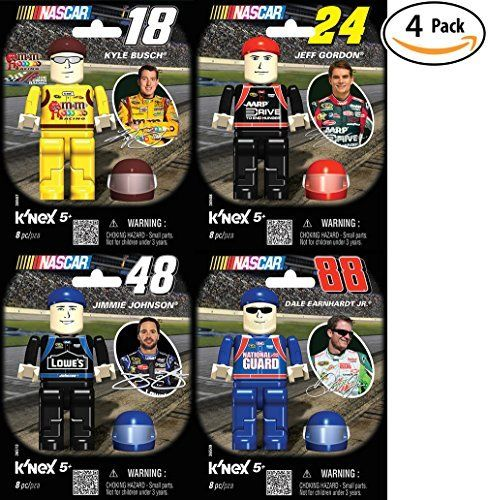 News Videos & more -  K'Nex NASCAR Four Driver Value Pack: #88 Dale Earnhardt Jr., #24 Jeff Gordon, #18 Kyle Bush, or #48 Jimmie Johnson. Great Christmas or Birthday Gift for a Racing Lover. Build Your Favorite Racer! #Music #Videos #News Check more at https://rockstarseo.ca/knex-nascar-four-driver-value-pack-88-dale-earnhardt-jr-24-jeff-gordon-18-kyle-bush-or-48-jimmie-johnson-great-christmas-or-birthday-gift-for-a-racing-lover-build-your-favorite-rac/