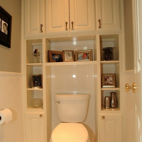 Cabinets Over Toilet Design Ideas, Pictures, Remodel and Decor