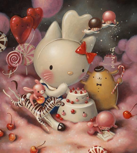 Brandi Milne~ Eat Cakes, You Kitty