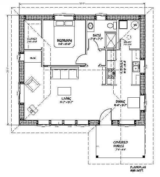 Nice Small Straw Bale House Plans #8: Tiny Straw Bale House Plan