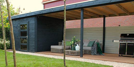 Een tuinhuis op maat eigen huis tuin veranda for Bouwtekening veranda eigen huis en tuin