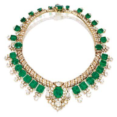 Lot | Sotheby's – Cartier 105 carat Emerald an…