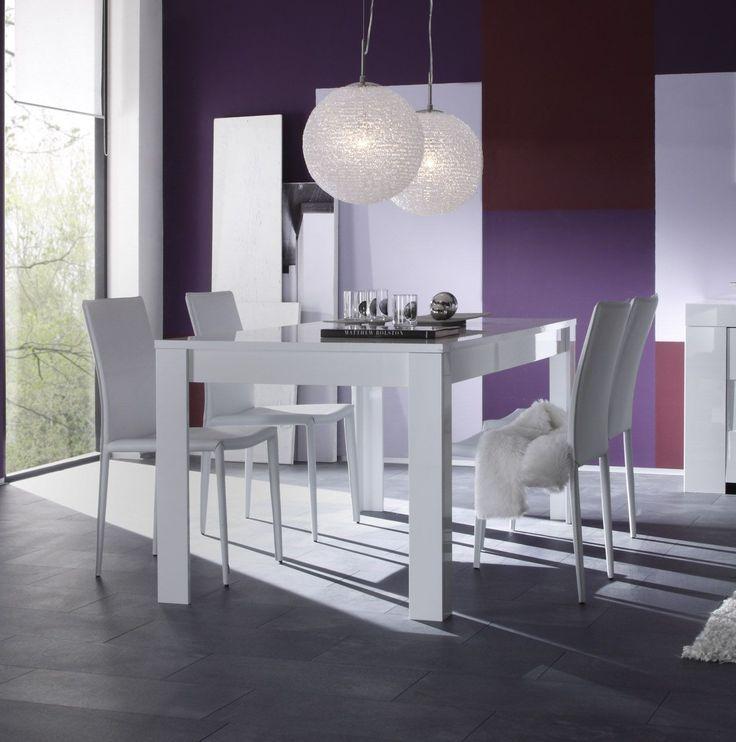 Les Meilleures Images Du Tableau Table à Manger Sur Pinterest - Table carree blanc laque avec rallonge pour idees de deco de cuisine