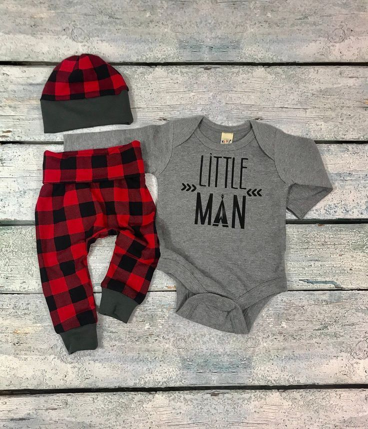 Tenue bébé garçon venant à la maison / petit homme / tenue bébé nouveau-n…