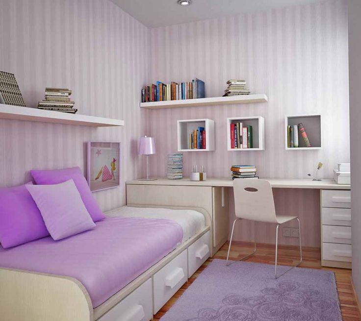 Foto Desain Kamar Tidur Ukuran Kecil Sederhana