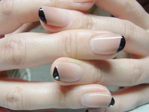 corner french tip//