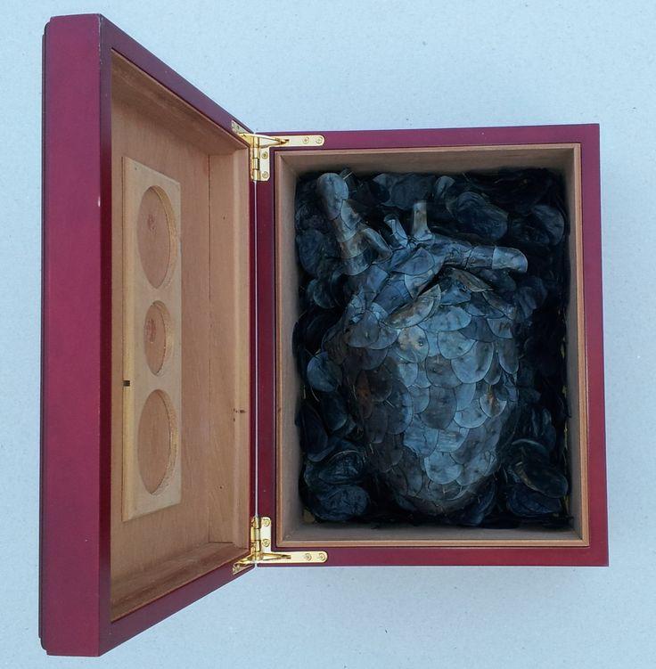 Black anatomy - Hearth, by Valentina Stefănescu