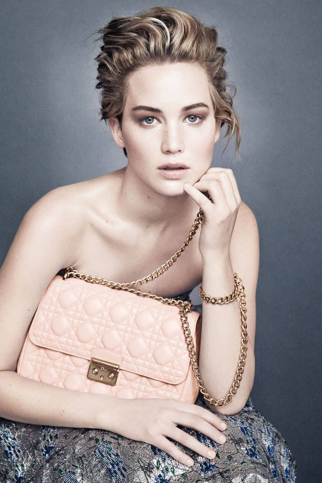 Jennifer Lawrence Miss Dior Campaign - Jennifer Lawrence Third Dior Campaign - Harper's BAZAAR Magazine