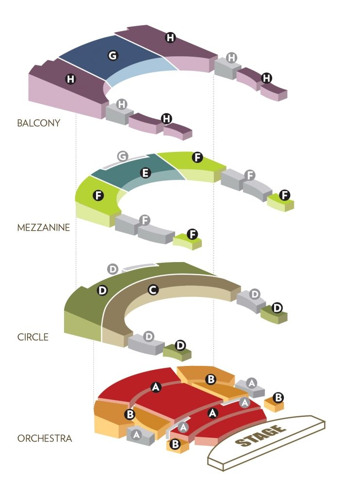The Amazing Overture Seating Chart