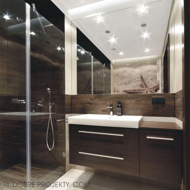łazienka szara z brązowym - Szukaj w Google