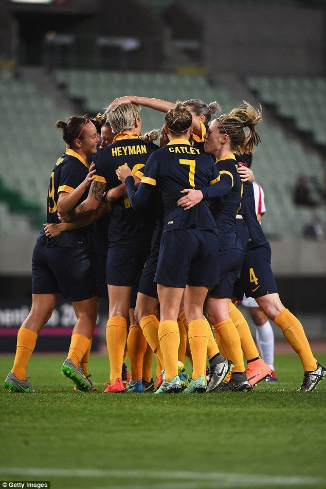 Matildas qualify for the Olympic Games for the first time in 12 YEARS after 2-1 win over North Korea!  #olympics #games #football