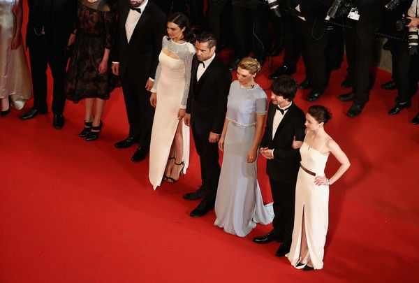 """Jessica Barden Photos Photos - Rachel Weisz,Colin Farell,Lea Seydoux,Ben Whishaw and Jessica Barden attend the Premiere of """"The Lobster"""" during the 68th annual Cannes Film Festival on May 15, 2015 in Cannes, France. - 'The Lobster' Premiere - The 68th Annual Cannes Film Festival"""