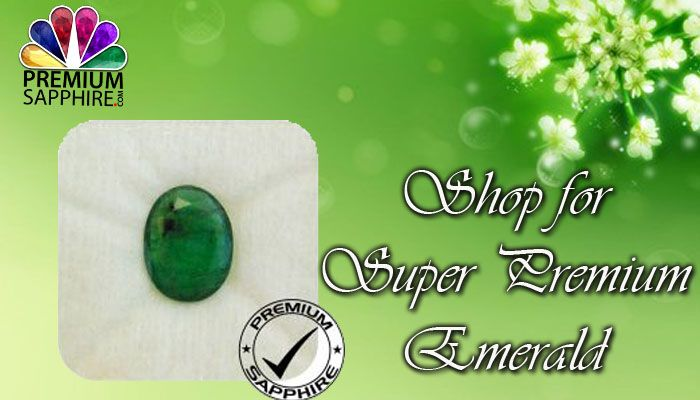 Shop online for super premium emerald panna stone at the very best prices @ https://www.premiumsapphire.com/emerald-super-premium-grade.html