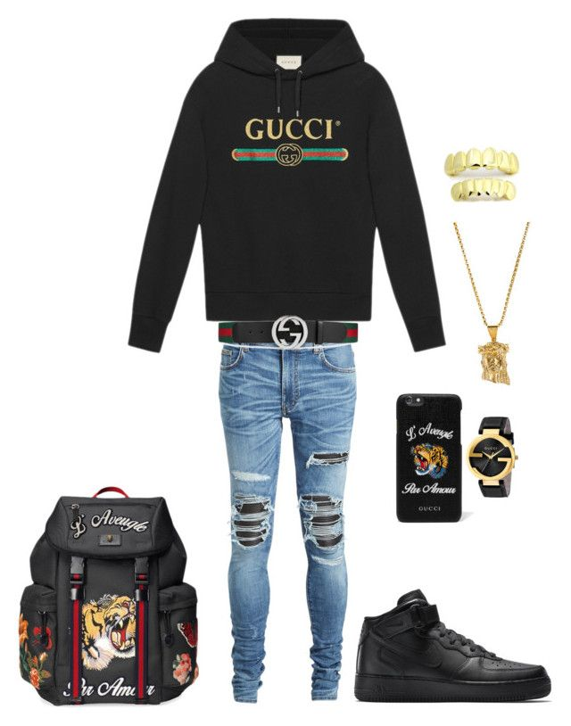 marvelous black gucci outfit
