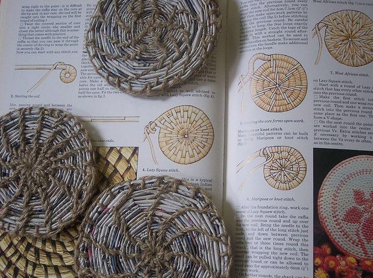 Pin by Violeta Genciana on trabajos en papel periódico | Pinterest