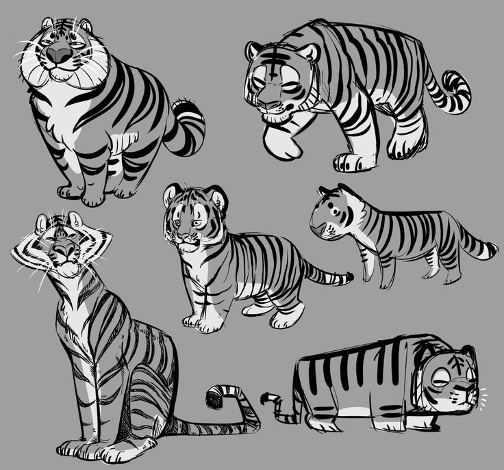 juluia:  more homework! we had to design animals using shapes and I drew my favorite animal :D I'll probably color some of these because I liked some of the designs!