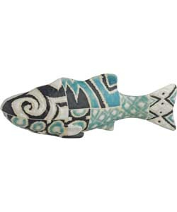 Why not bring a touch of the outside in by picking up this Habitat Ikatta Ceramic fish objet from Argos. The pattern is a striking and eclectic blend of geometric shapes and sweeping natural curves. The exciting design and colour contrasts draw in the eye and stimulates the mind. The piscine shape will mean this is truly a focal point of any room. £22