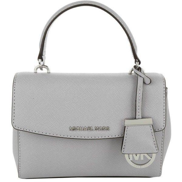 Michael Kors Shoulder Bags, MICHAEL Ava XS Crossbody Dove Handbag ($220) ?  liked