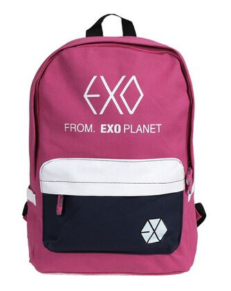 Men's Bags Luggage & Bags Exo Fromplanet Kris Luhan Sehun Canvas Travel Bag Schoolbag Backpack New