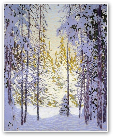 """Winter Wonderland"" by Lawren Harris"