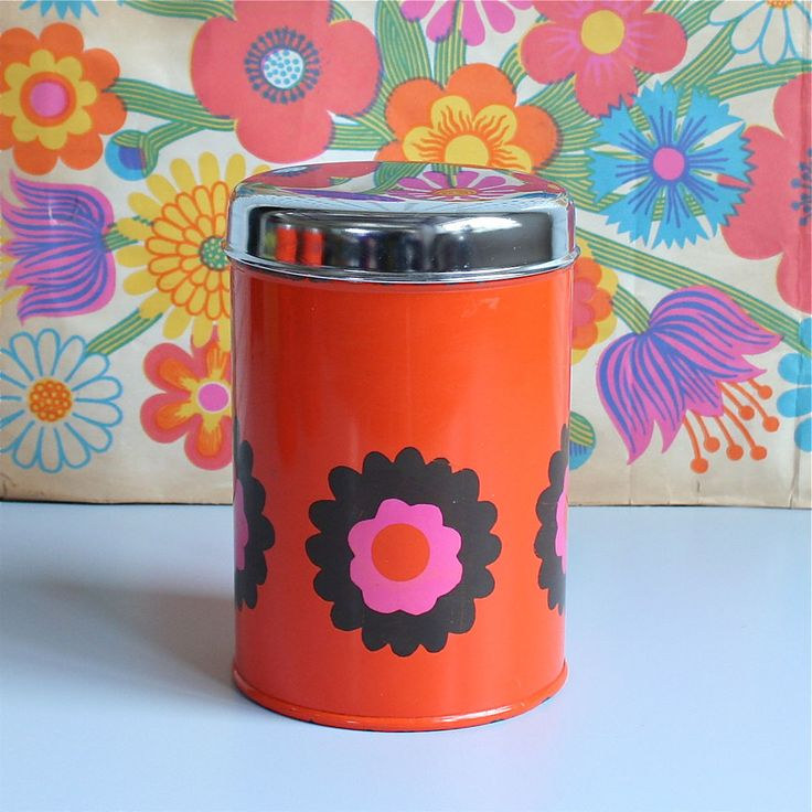 Winter's Moon — Vintage Brabantia Storage Tin - SOLD
