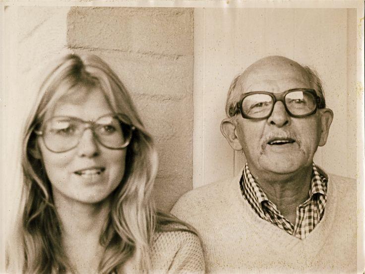 My sister Eva and Dad
