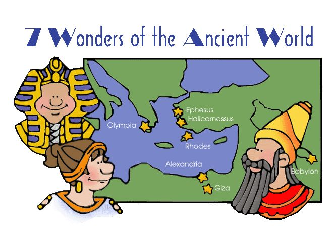 Website with activities on 7 Wonders of the Ancient World    Cycle 1 Wk:4