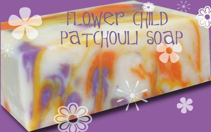 Flower Child Patchouli Soap Recipe | THE PONTE VEDRA SOAP SHOPPE ...