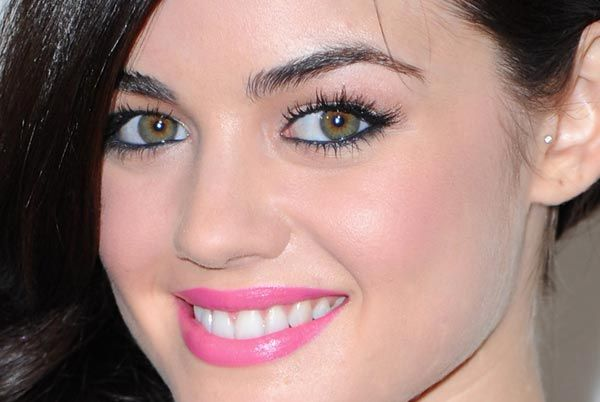 Lucy Hale (spring makeup)
