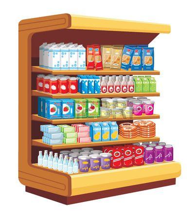 Supermercado. vector photo