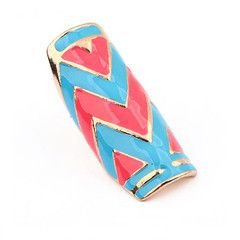 Whimsical Zigzag Ring (Blue), S$ 7.00 from fourtwelve.com.sg