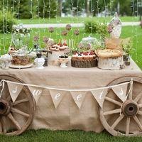 Эко свадьба! Чудесный кенди бар!