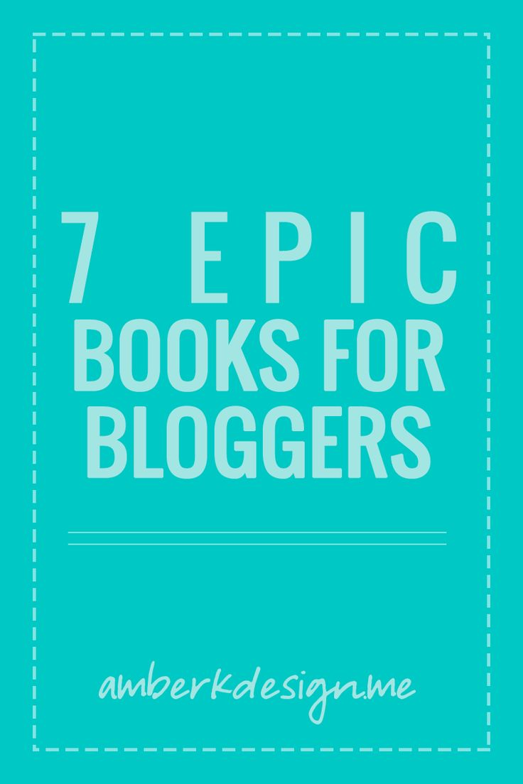 There's lots of great information on blogging out there, but there's even better stuff hidden inside books. Here's a list of must read books for bloggers!