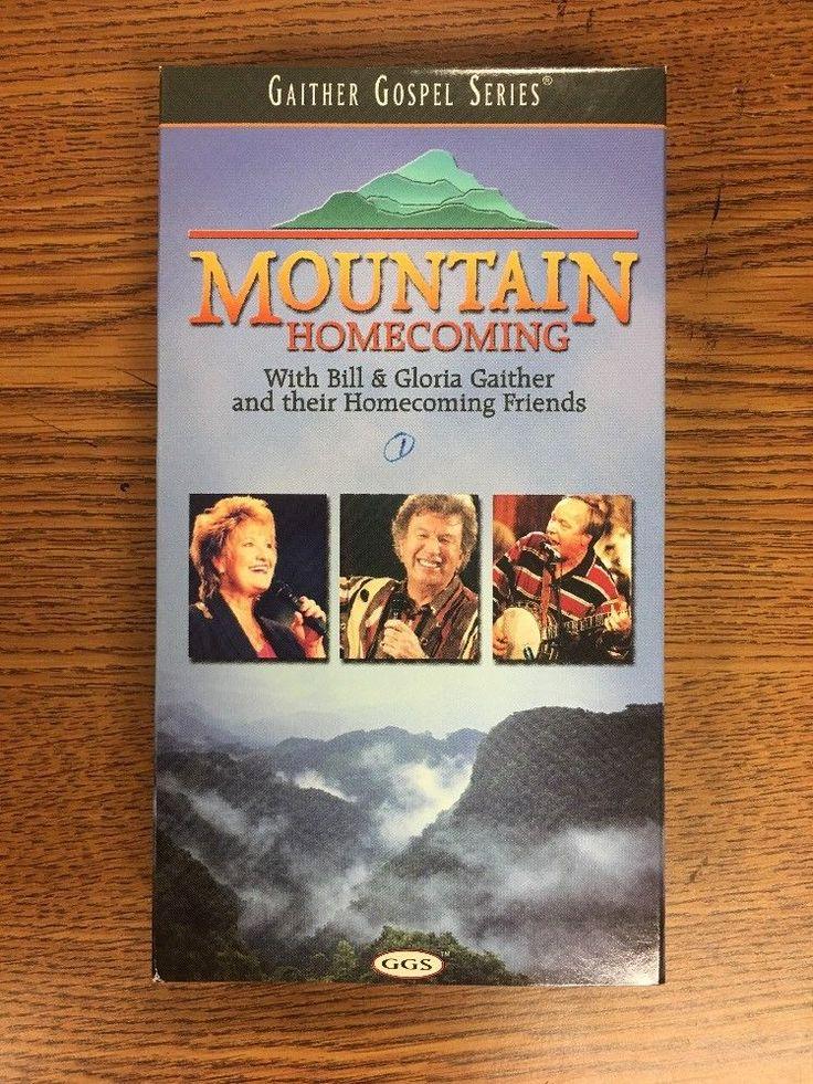 Gaither Gospel Series MOUNTAIN HOMECOMING VHS 1999 Bill & Gloria & Friends