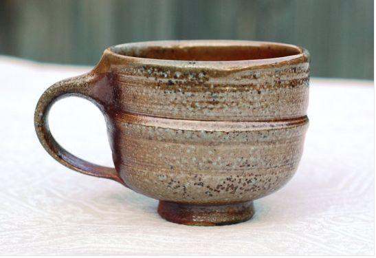 handthrown mug