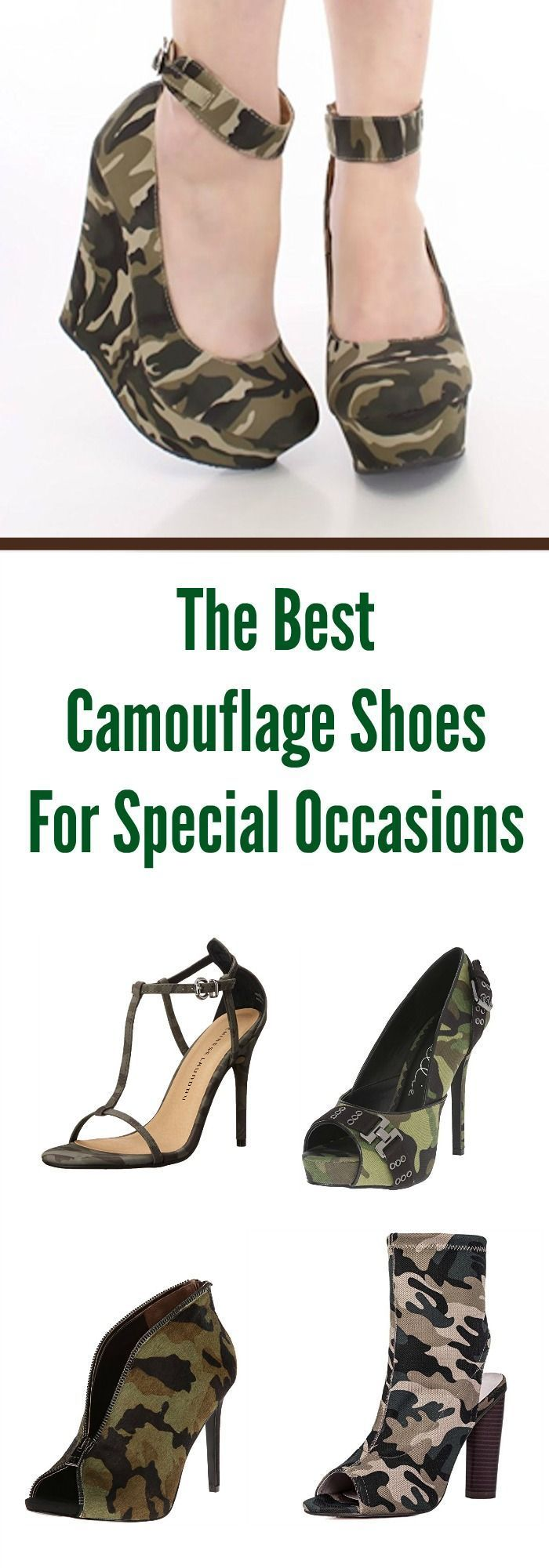 The Best Camouflage Shoes For Special Occasions #camo #camouflage #camouflageshoes #camoshoes
